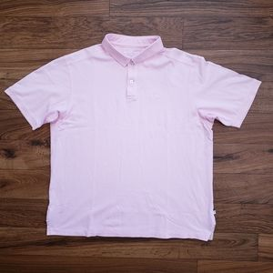 Tommy Bahamas Pink Polo Size XL